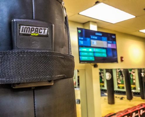 impact wrap capteur boxe interactive
