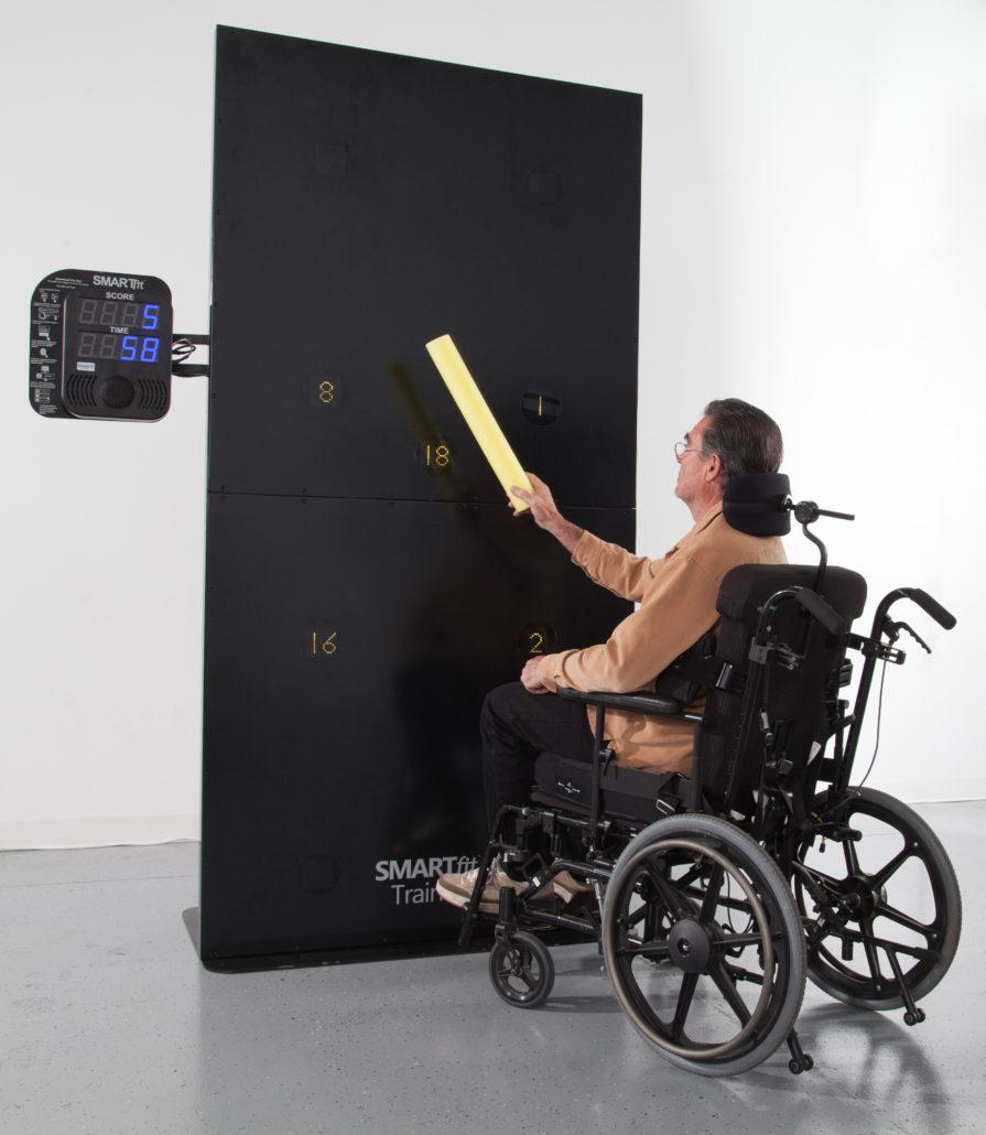 mur smartfit rééducation fauteuil roulant